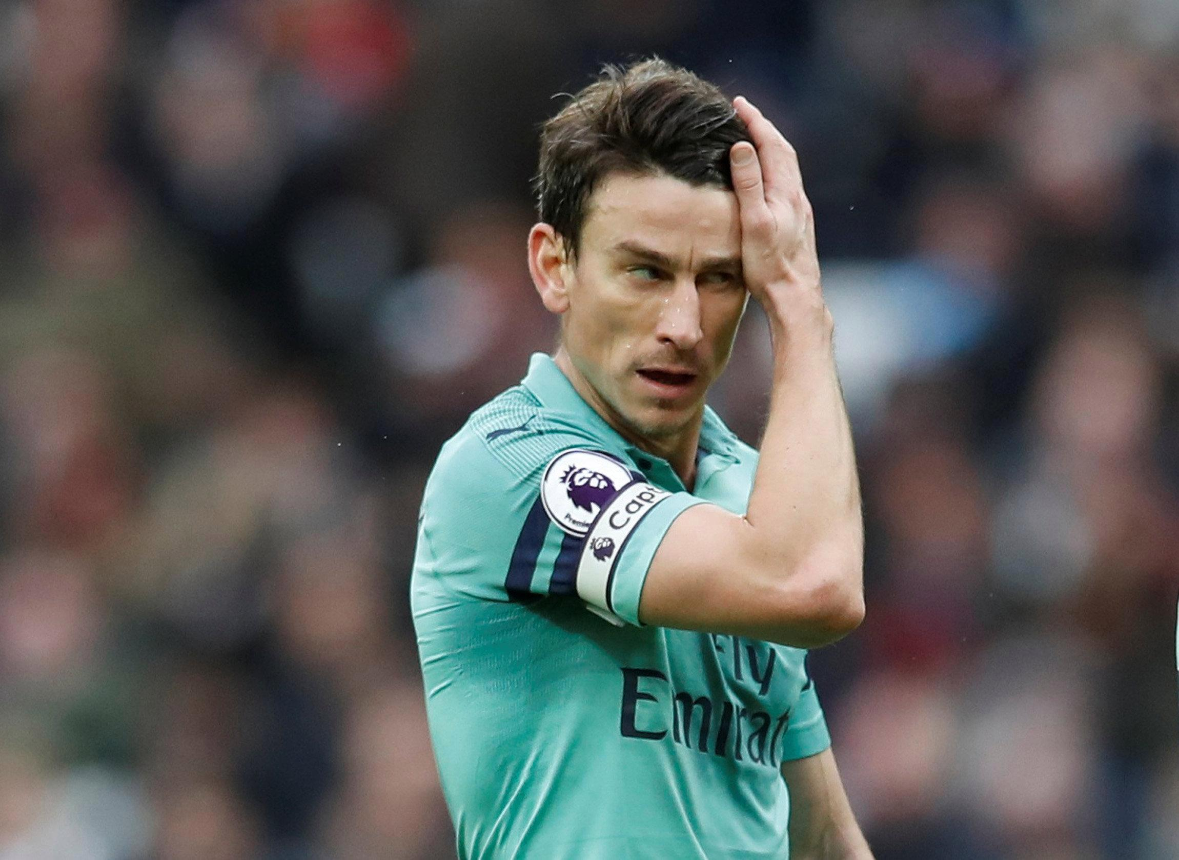 Koscielny lays blame for woeful Arsenal defeat on strikers in post-match rant