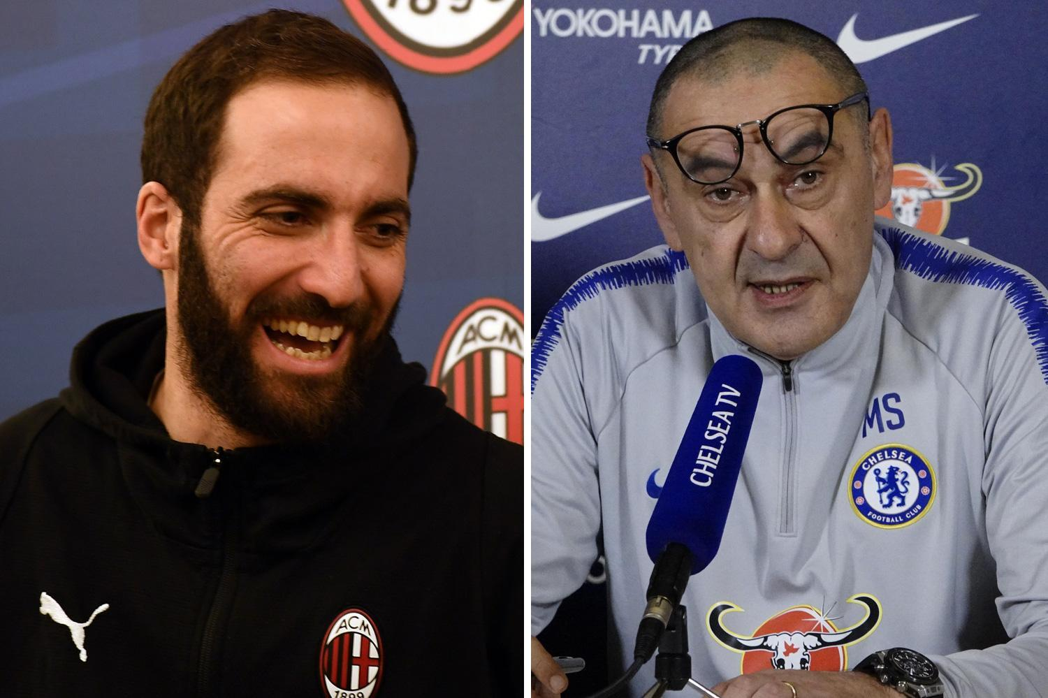 Sarri confirms Higuain transfer complete but ace was NOT registered in time to face Spurs in Carabao Cup