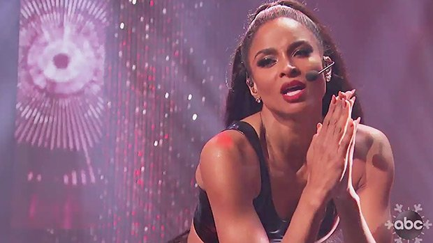 Ciara Rings In The New Year With Sexy Performance On 'Dick Clark's New Year's Rockin' Eve'