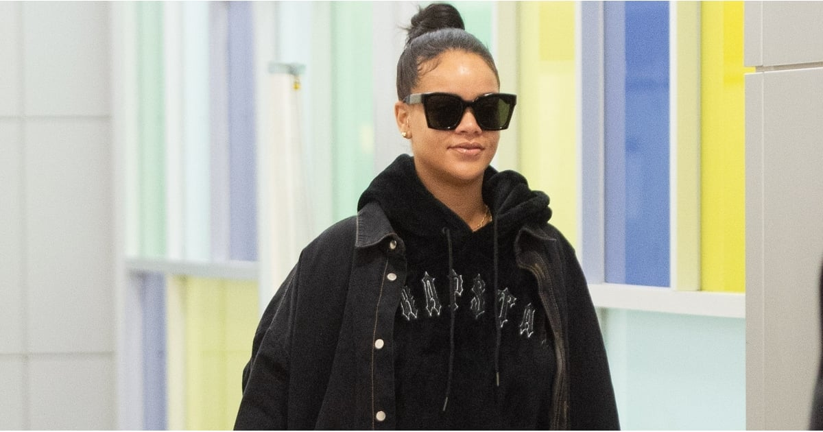 Rihanna's Travel Outfit Looks So Modern Until You Lay Eyes on Her Nostalgic Boots