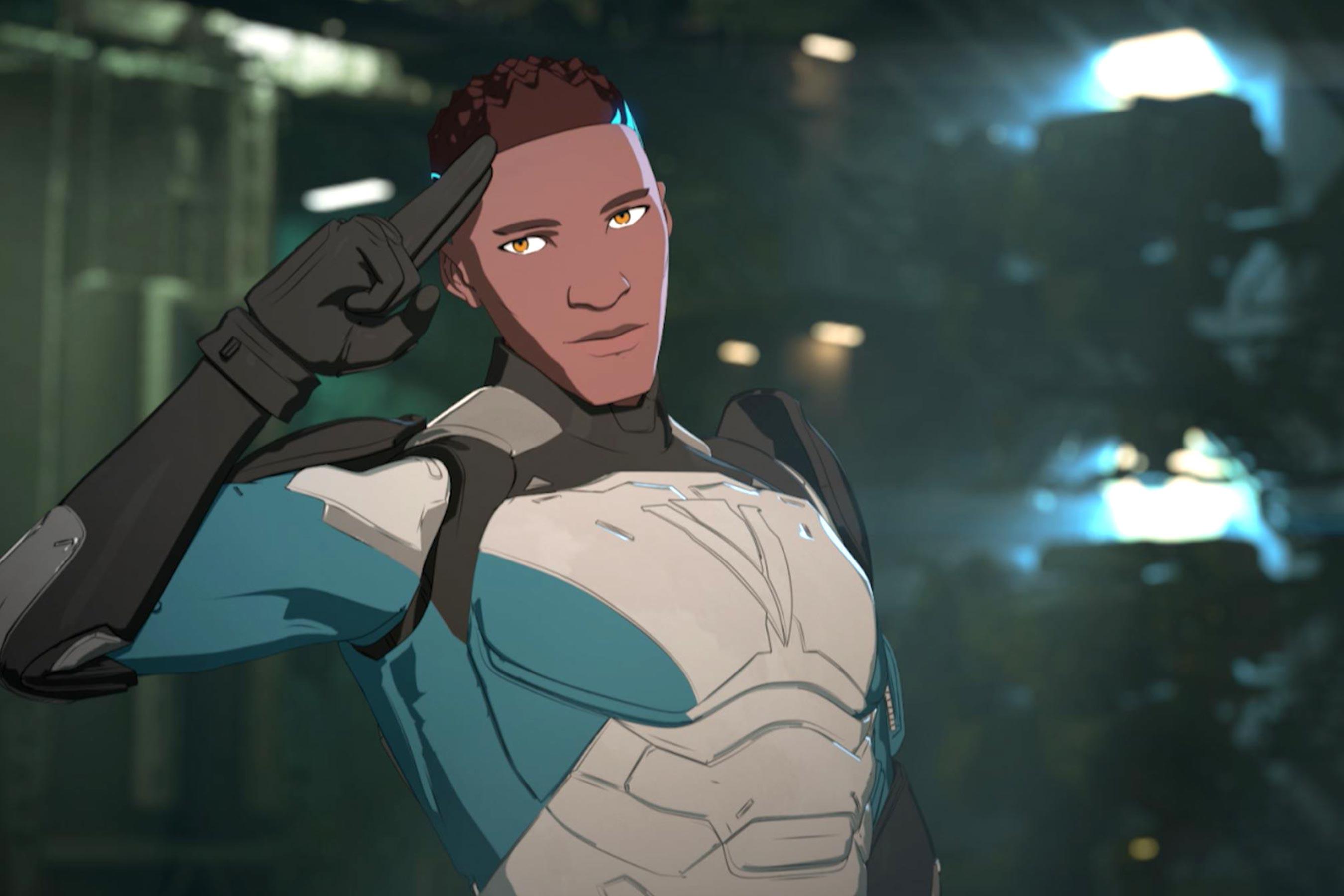 Michael B. Jordan talks heroic gen:LOCK character in exclusive featurette