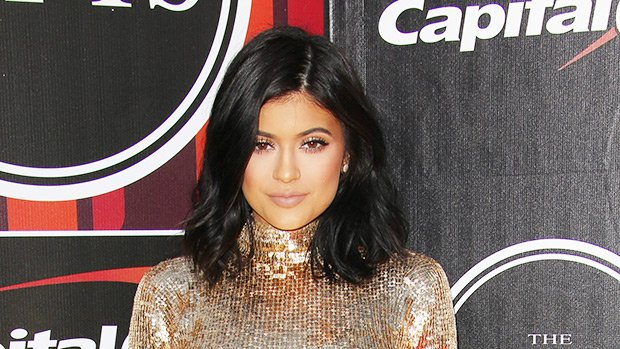 Kylie Jenner Wears Sexy Gold Dress For Photo Shoot & It Immediately Sells Out — Get A Similar Look