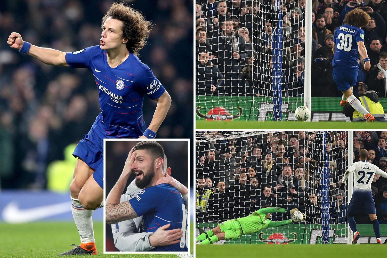 Chelsea through to Carabao Cup final after dramatic penalty shoot-out win over Tottenham