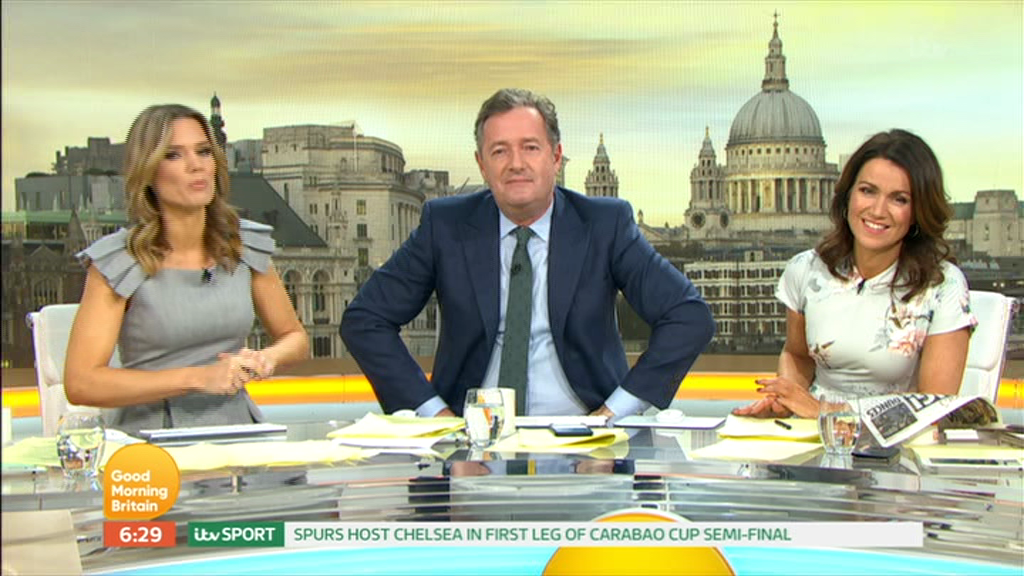 Piers Morgan fumes over Good Morning Britain blunder as voiceover announces wrong date