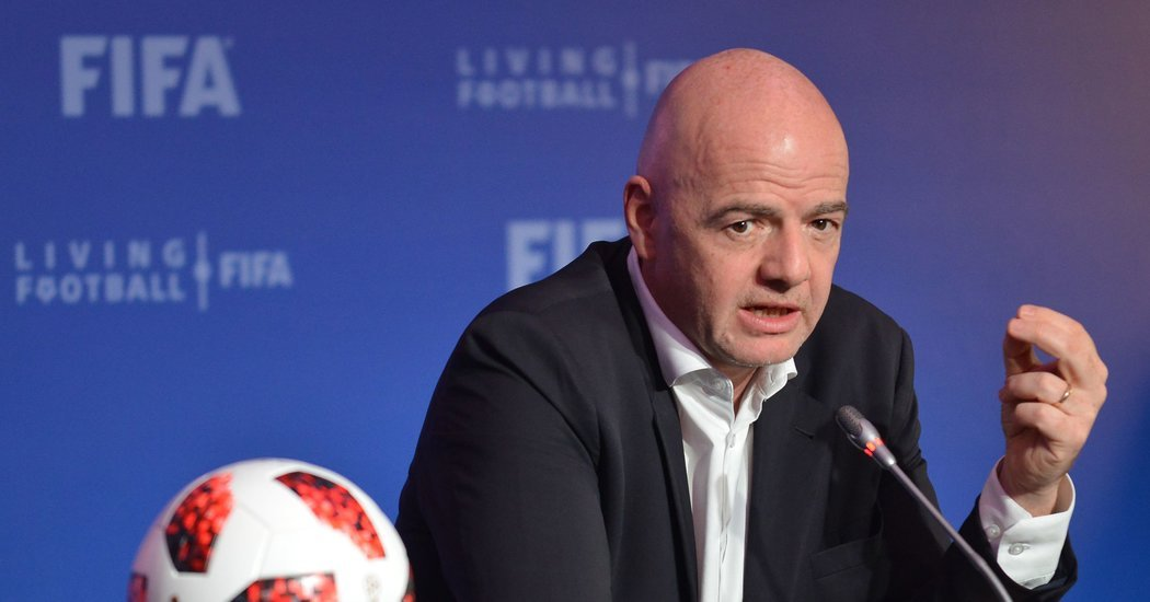 FIFA's Boss Wants to Remake the Game. Europe Wants No Part of It.