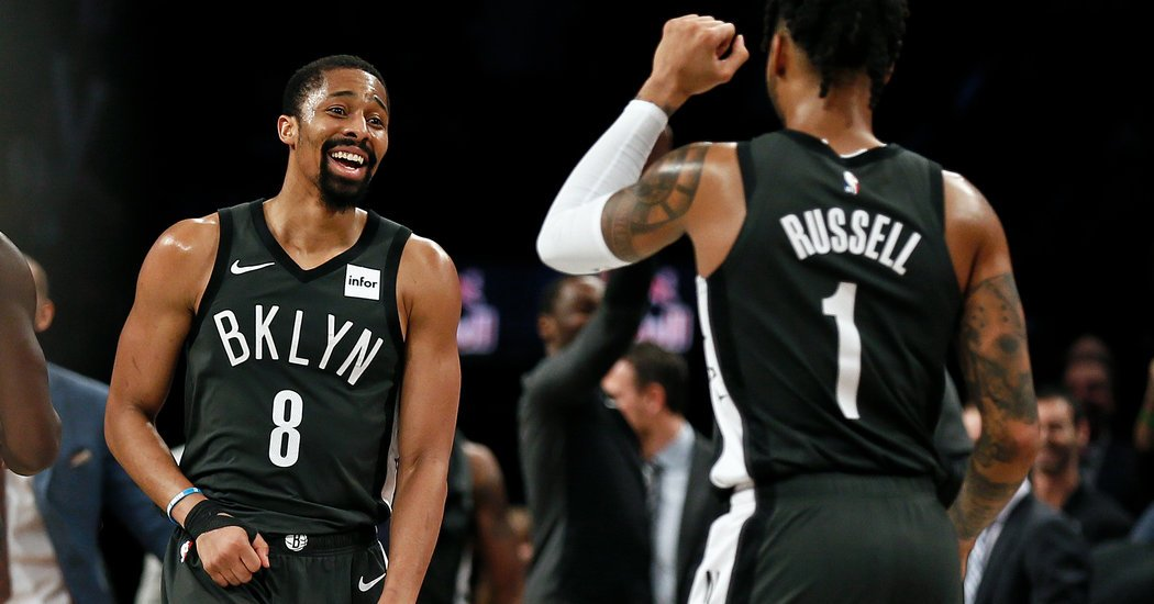 Nets' Run to the Playoffs Hits a Snag With Spencer Dinwiddie Injury