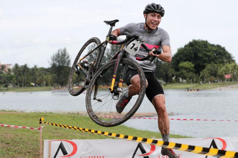 Cycling: Participants lap it up on day of thrills and spills at OCBC Cycle National Cyclocross Championship