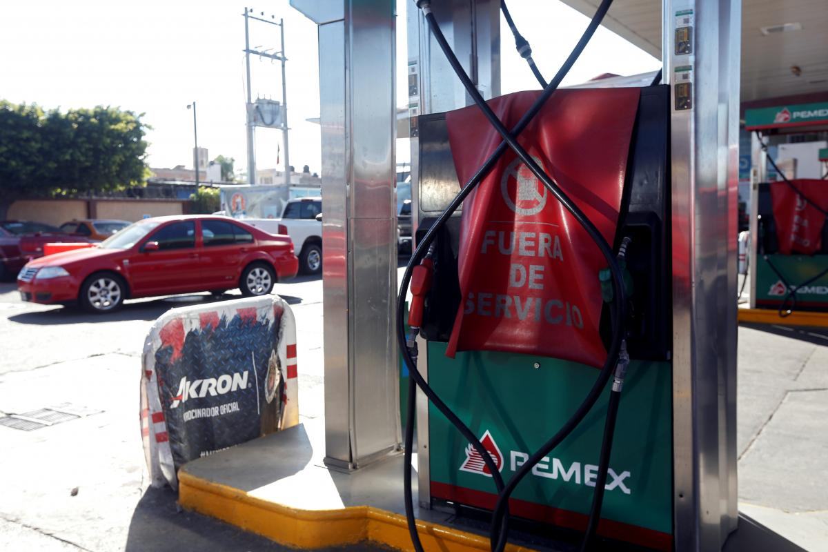 Mexican president says fuel theft plan working despite shortages