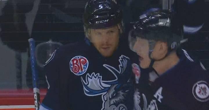 Winnipeg Jets recall Cam Schilling from Manitoba Moose
