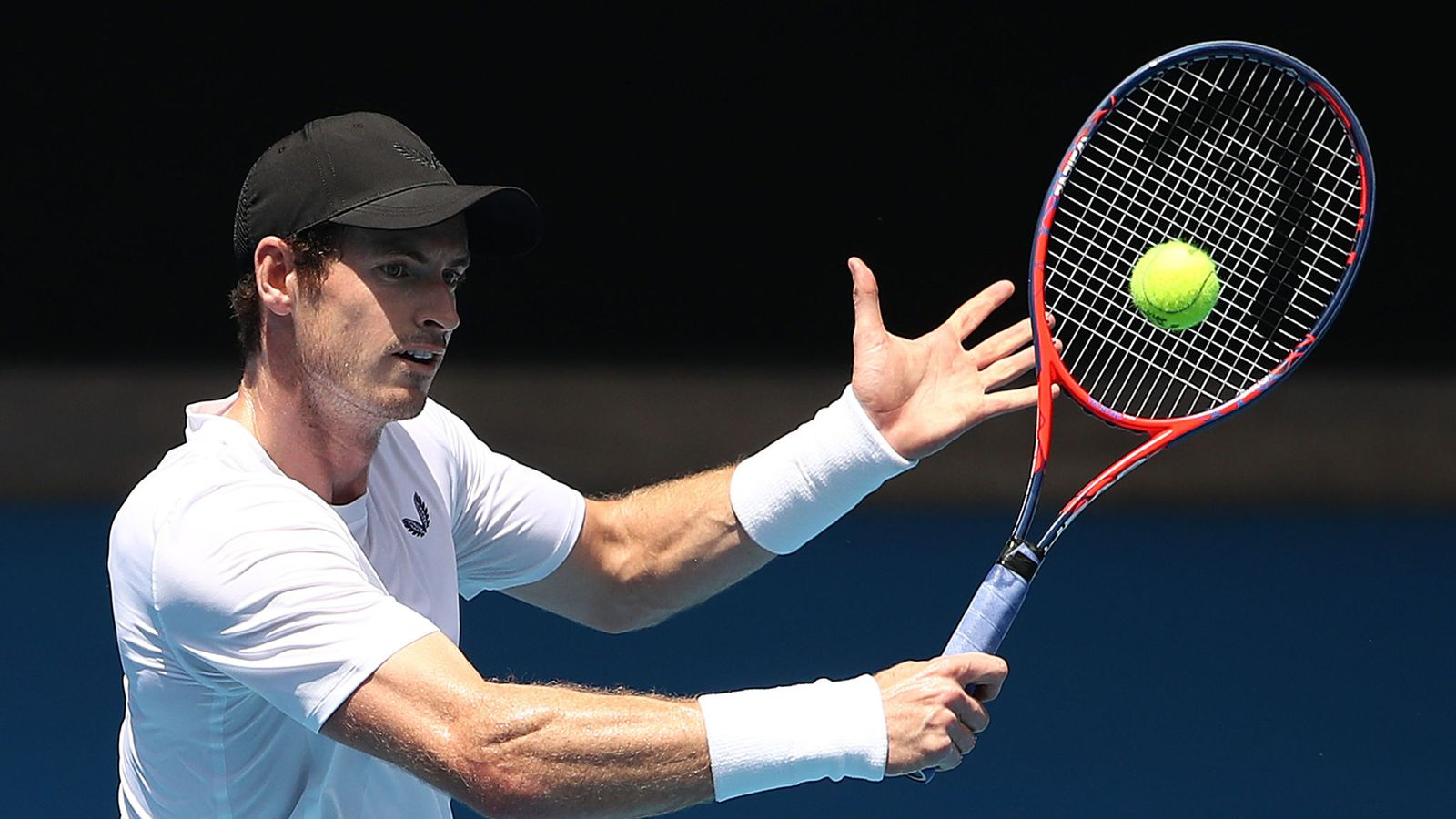 Andy Murray back on training courts after announcing plans to retire from tennis