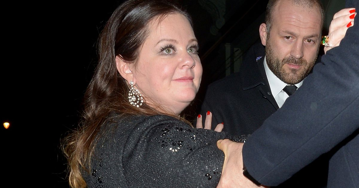 Melissa McCarthy carried back to her hotel at 5am after wild BAFTA party