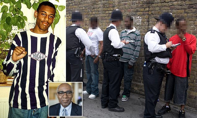 TREVOR PHILLIPS: Wrong arm of the law?