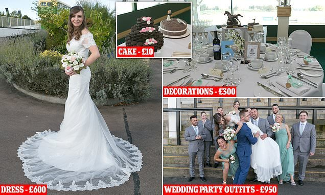 Thrifty bride Katie Watkins on how she saved £20k on her wedding