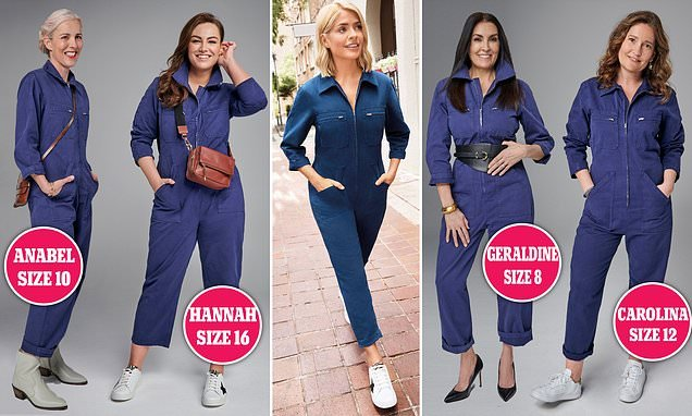 The sell-out boilersuit from Holly Willoughby's latest M&S collection