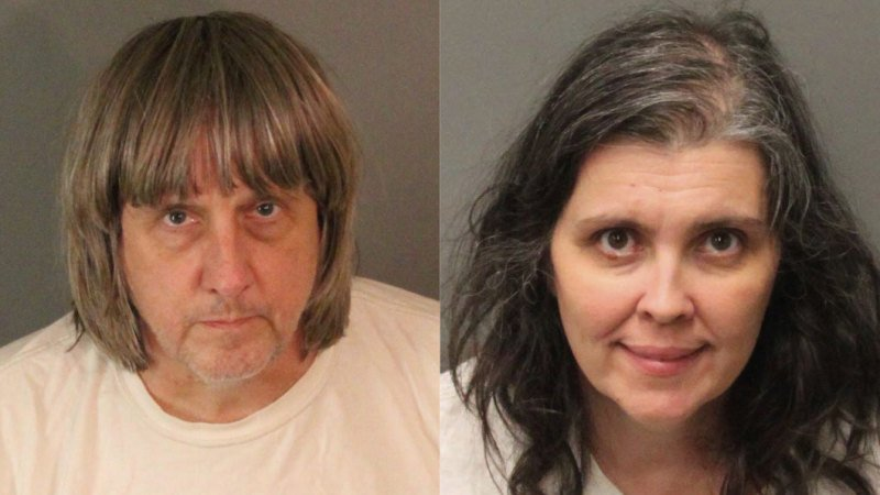 Beaten, starved and put in cages: Parents of 13 plead guilty to torture, abuse of children