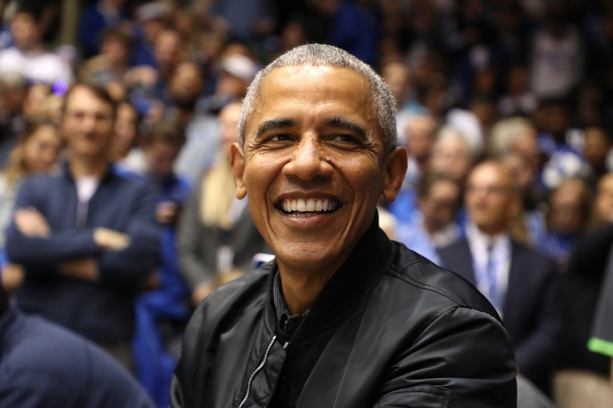 """Barack Obama Wore A Bomber Jacket Embroidered With """"44"""" & It Was The Most Boss Move Ever"""