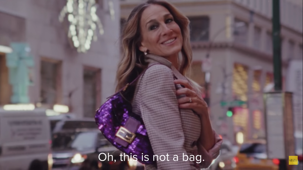 'Sex And The City' Fans Will Appreciate This Scene In Sarah Jessica Parker's New Fendi Video
