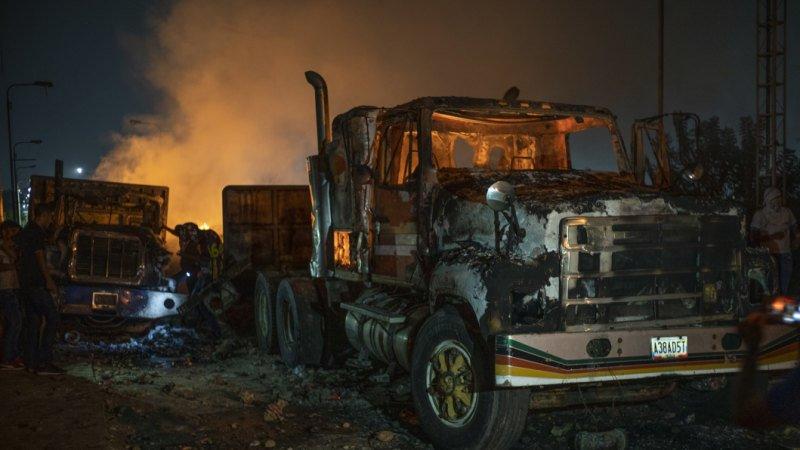 Venezuela's deadly border violence to trigger tighter US sanctions