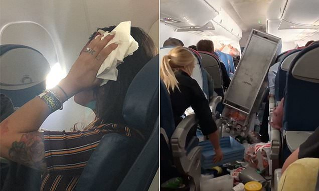Delta flight has emergency landing after severe turbulence injures 5