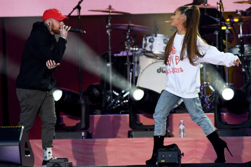 Did Ariana Grande Pay Tribute To Mac Miller With Her Grammys Dress?