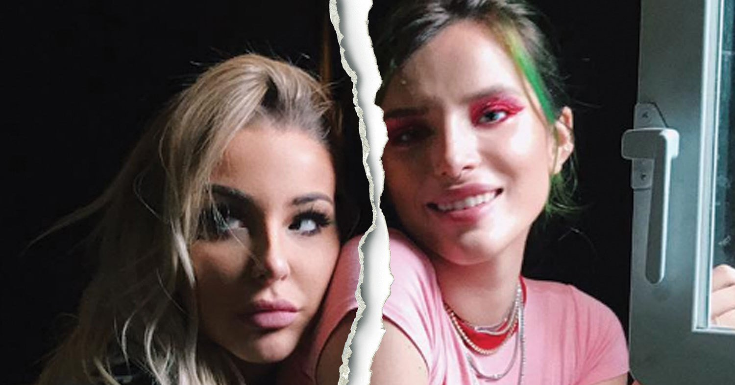 Bella Thorne and GF Tana Mongeau Split After Year-Long Open Relationship