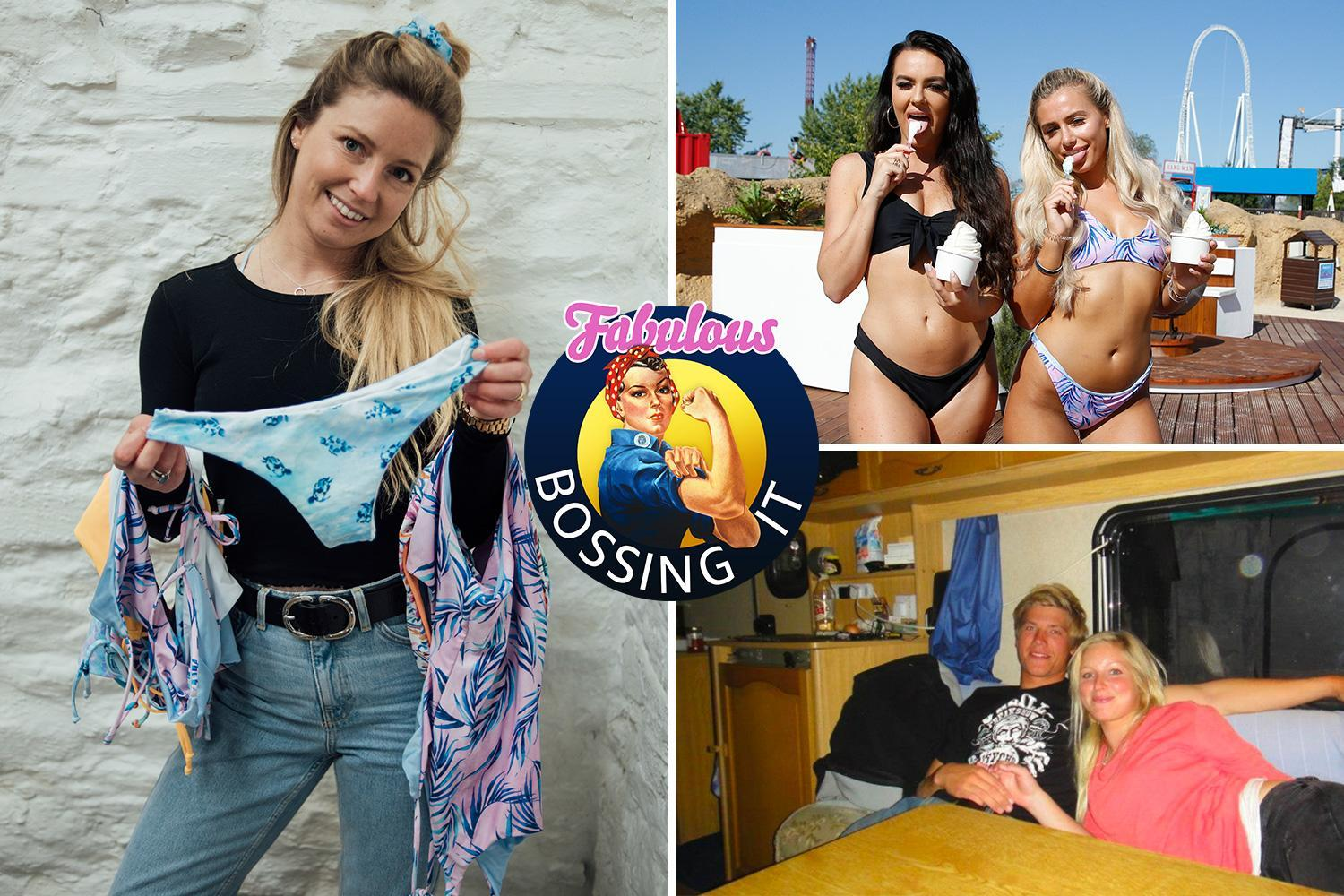 I was living in a caravan when I launched my bikini brand – now it's worth £150K and a fave of Love Island stars