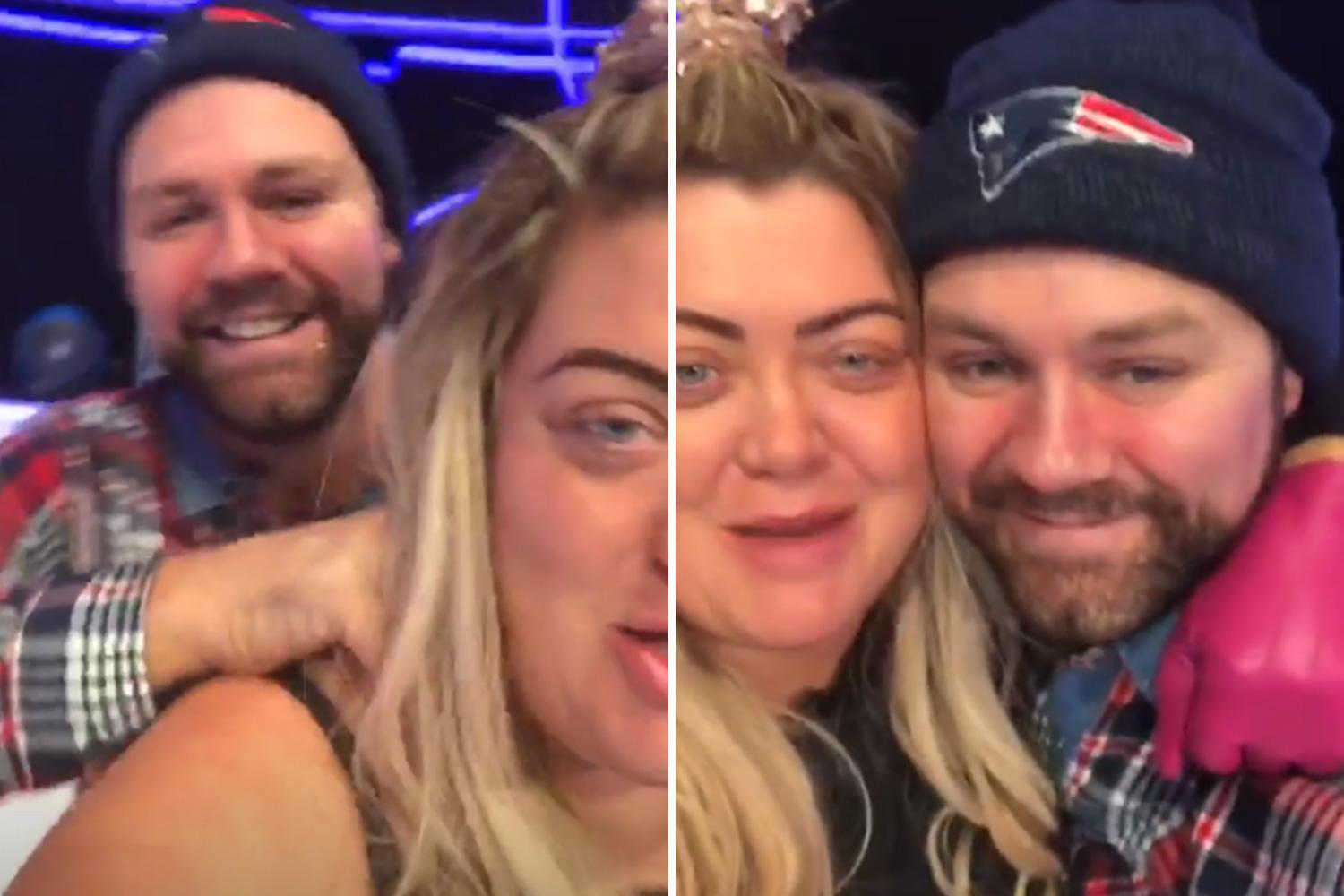 Gemma Collins insists she'll QUIT Dancing On Ice if Brian McFadden crashes out of the competition this weekend