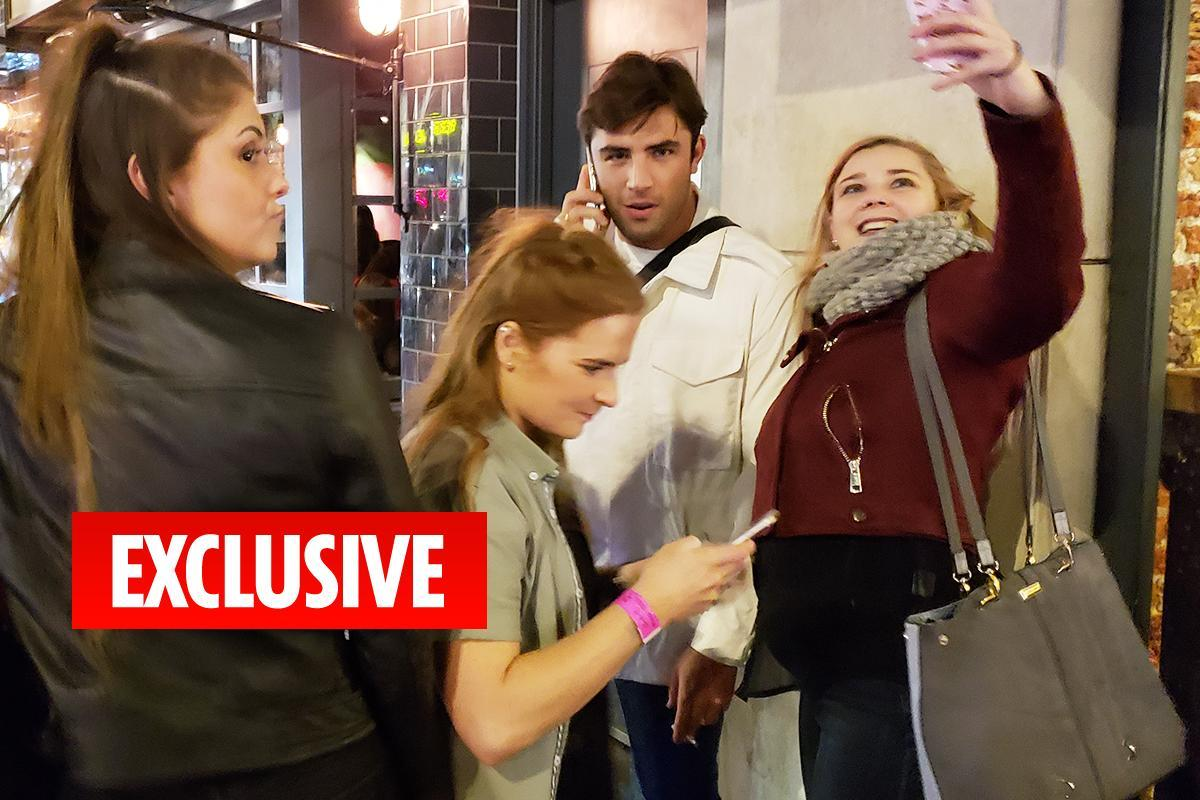 Jack Fincham mobbed by female fans during London night out without Dani Dyer following his cocaine shame