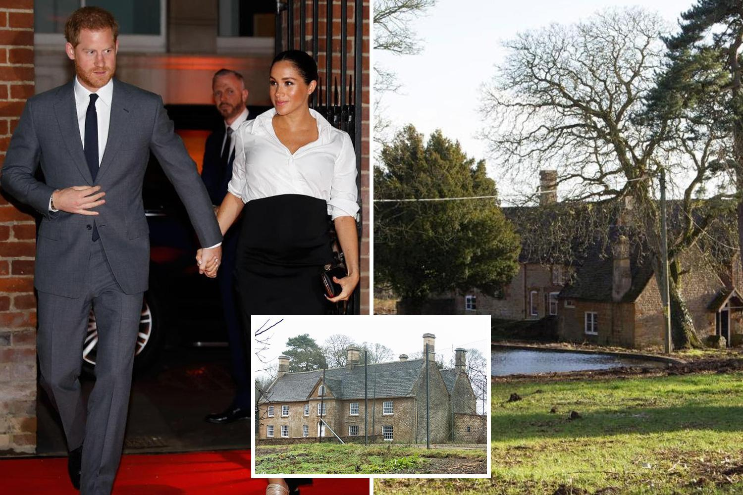 Meghan Markle and Prince Harry are looking for ANOTHER house – just as they prepare to move into luxury Windsor pad