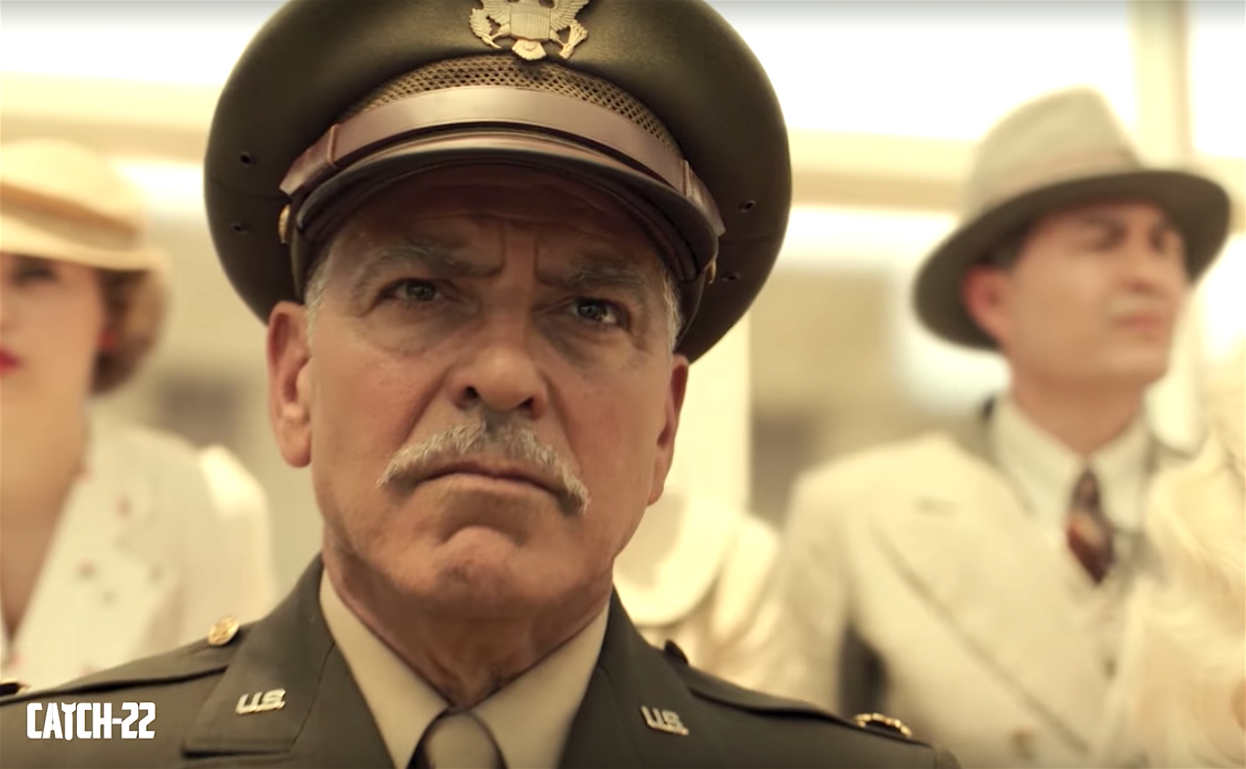'Catch-22' Trailer: George Clooney Scowls and Growls in Hulu's War Satire — Watch