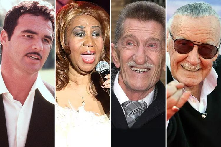 Which celebrities died in 2018? Famous faces who died last year from Dame June Whitfield to Aretha Franklin and Stephen Hawking