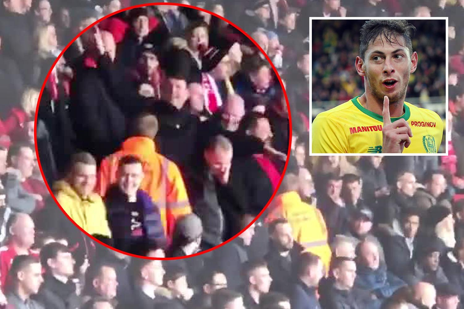 Southampton to ban fans that made plane gestures at Cardiff supporters after Sala tragedy