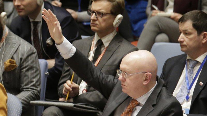 Russia and China veto US resolution on Venezuela
