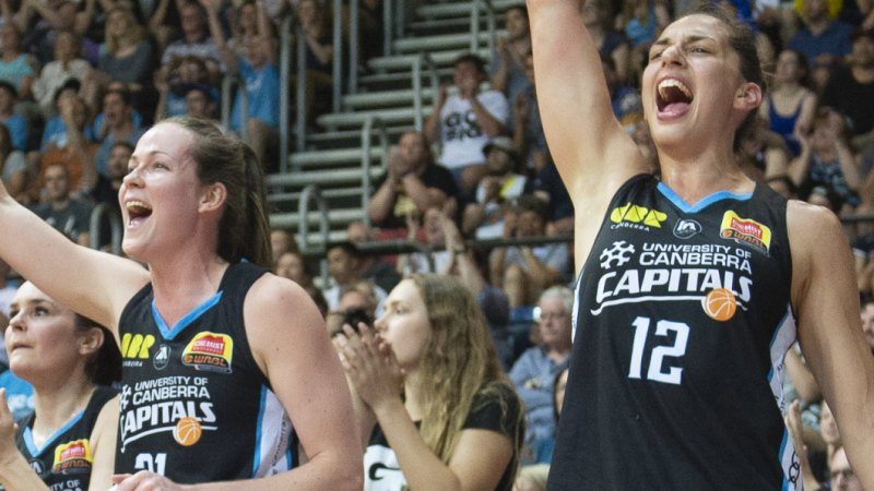Canberra Capitals look to end WNBL title drought in Adelaide's house