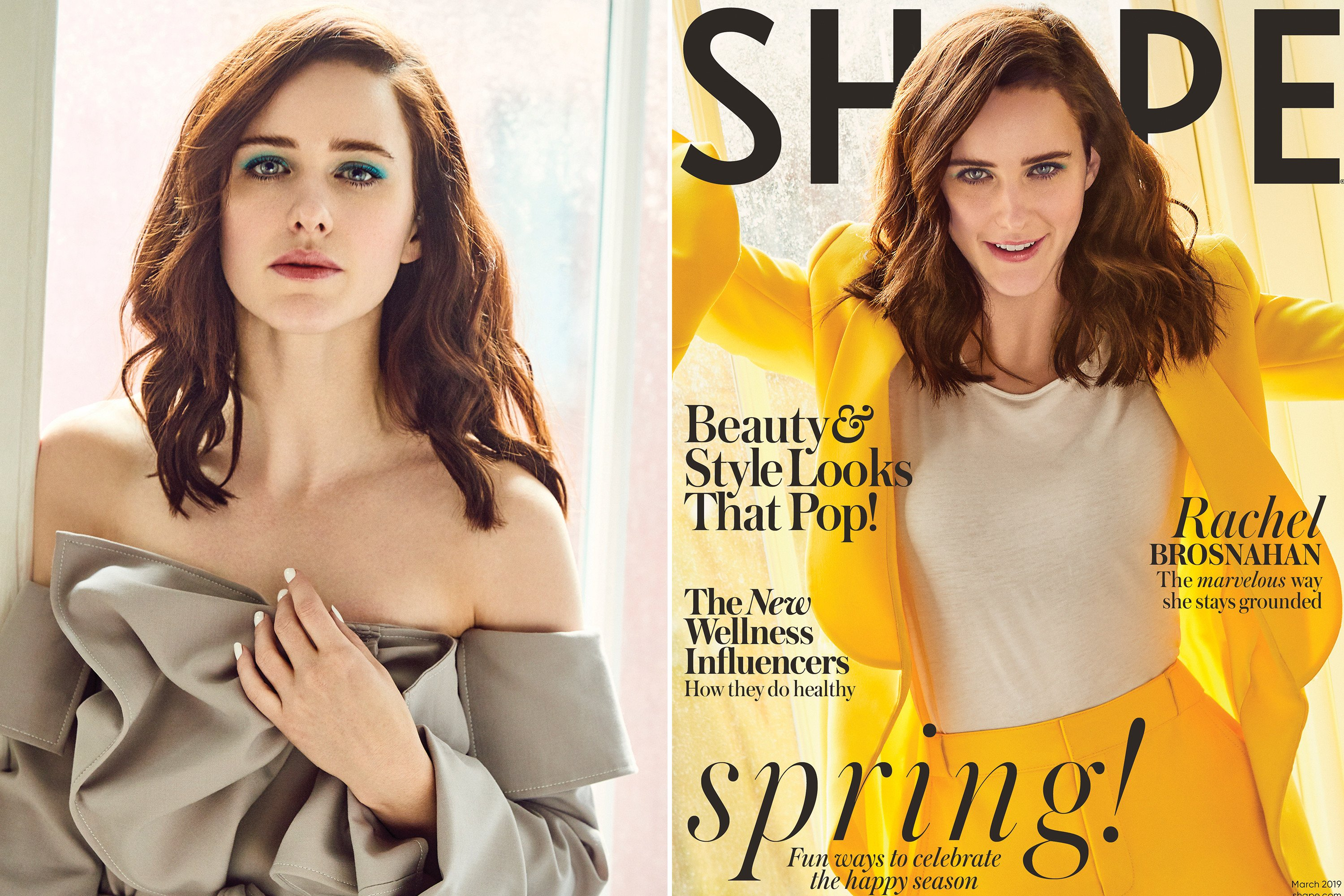 Rachel Brosnahan says her weight loss was 'unhealthy' during 'Mrs. Maisel'