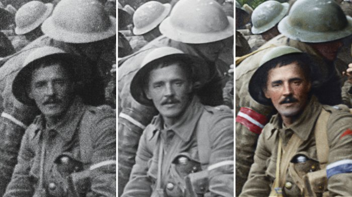 How Peter Jackson's 'They Shall Not Grow Old' Crew Carefully Restored Archival Footage