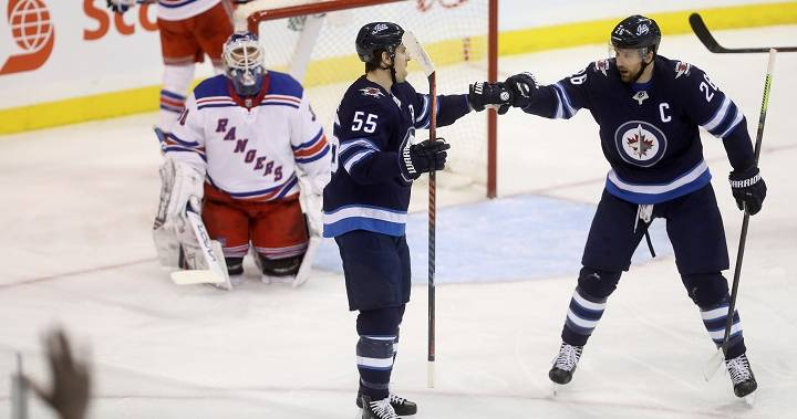 Mark Scheifele adds 3 points as Winnipeg Jets hold on to beat New York Rangers