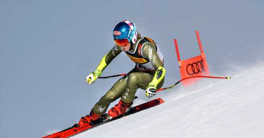 Mikaela Shiffrin Wows Skiing When She Races — and When She Doesn't
