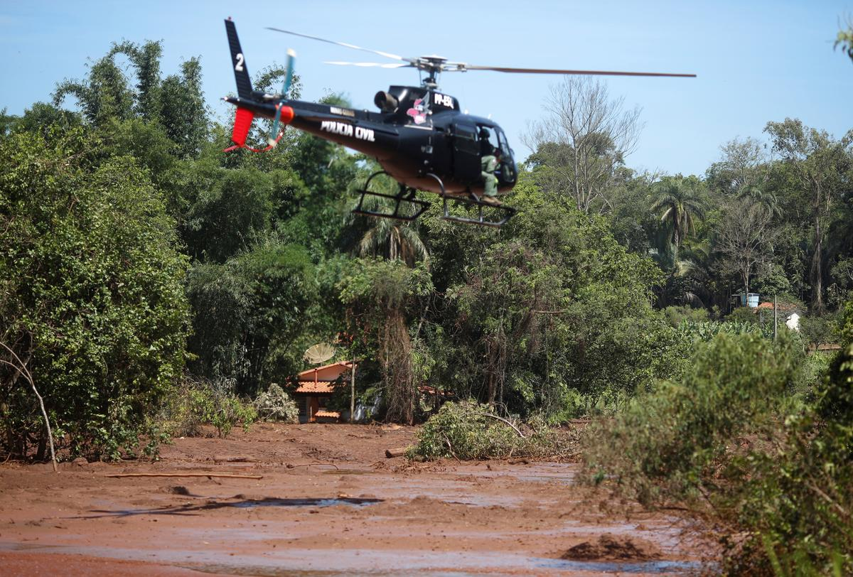 Brazil dam burst death toll rises to 110; search goes on for 238