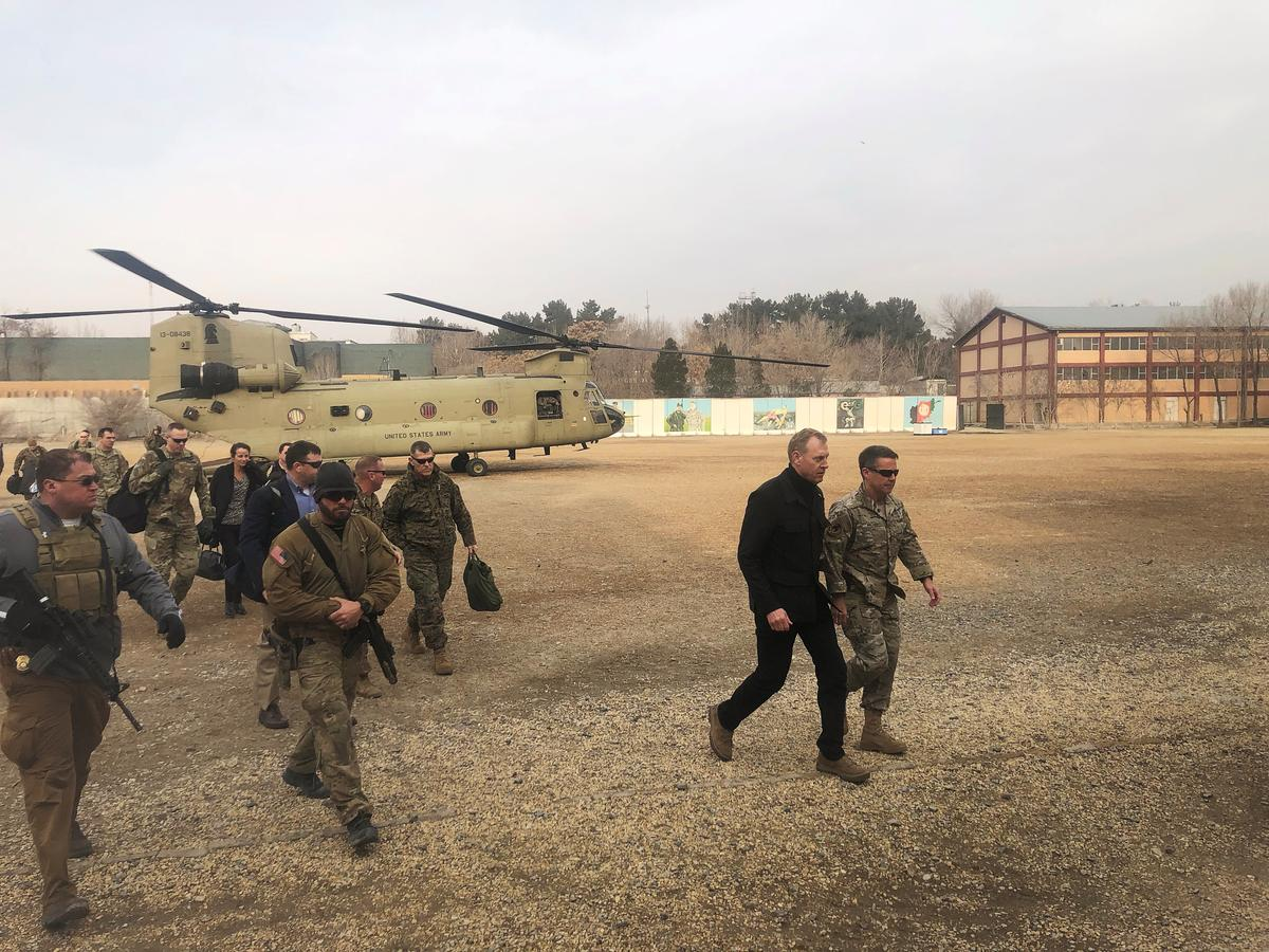 Acting Pentagon chief visits Baghdad to support Iraqi sovereignty, discuss Syria withdrawal