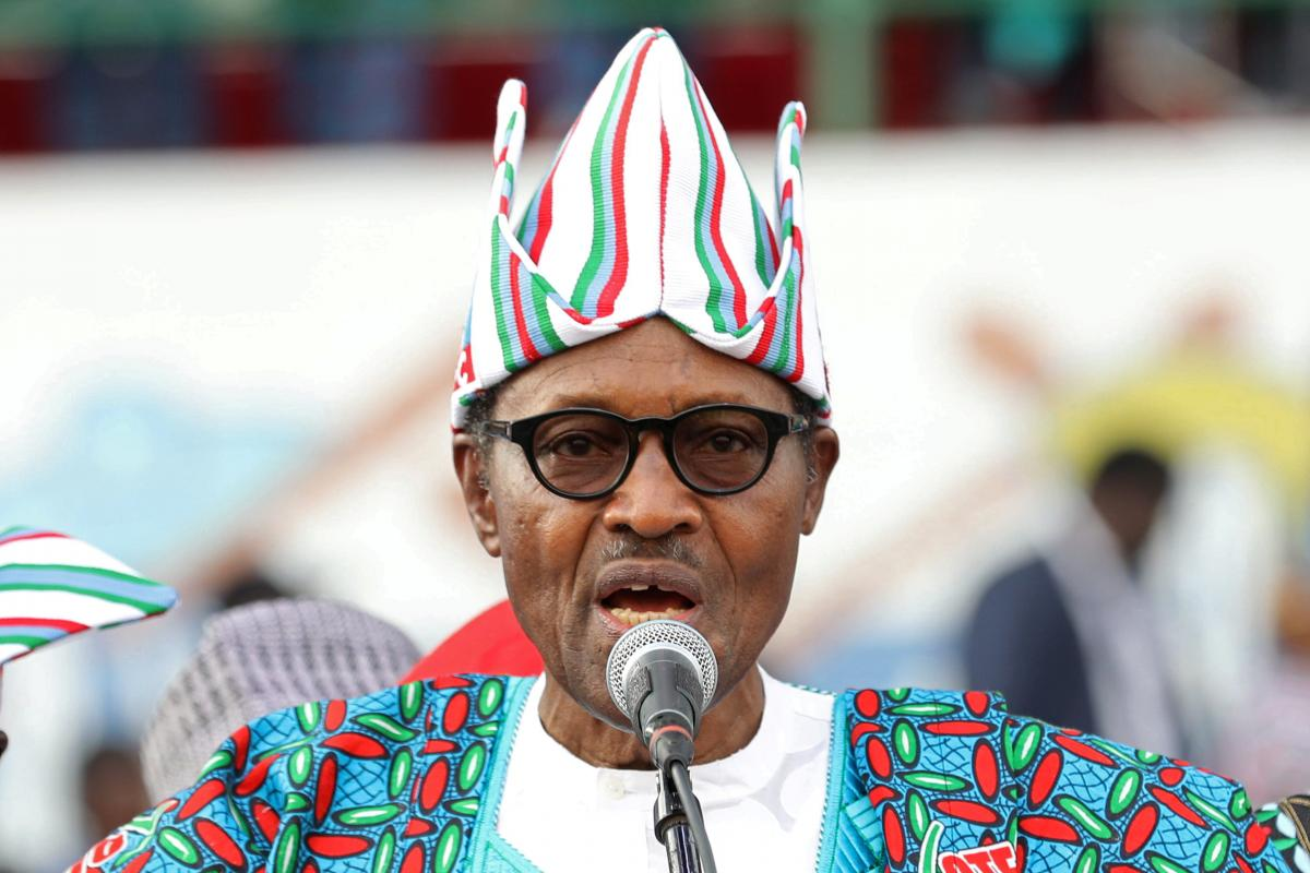 Nigeria's Buhari says government is committed to free, fair and peaceful election