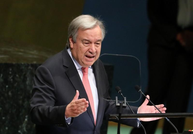 U.N. chief wants INF nuclear treaty saved, concrete steps in Hanoi