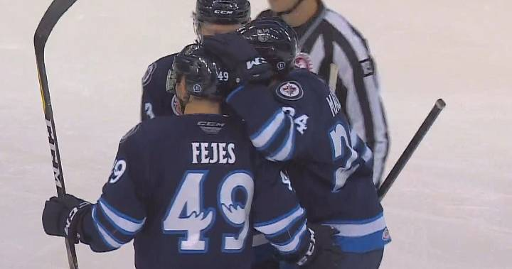Manitoba Moose extend home winning streak to 7 with victory over Chicago Wolves