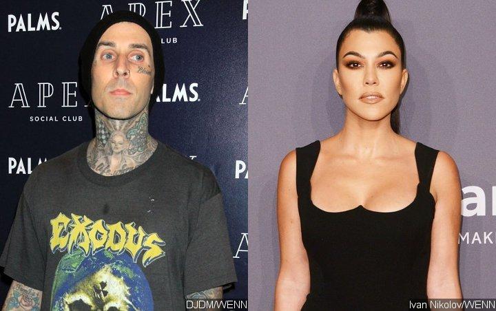 Here Is Travis Barker's Response to Kourtney Kardashian Romance Rumors