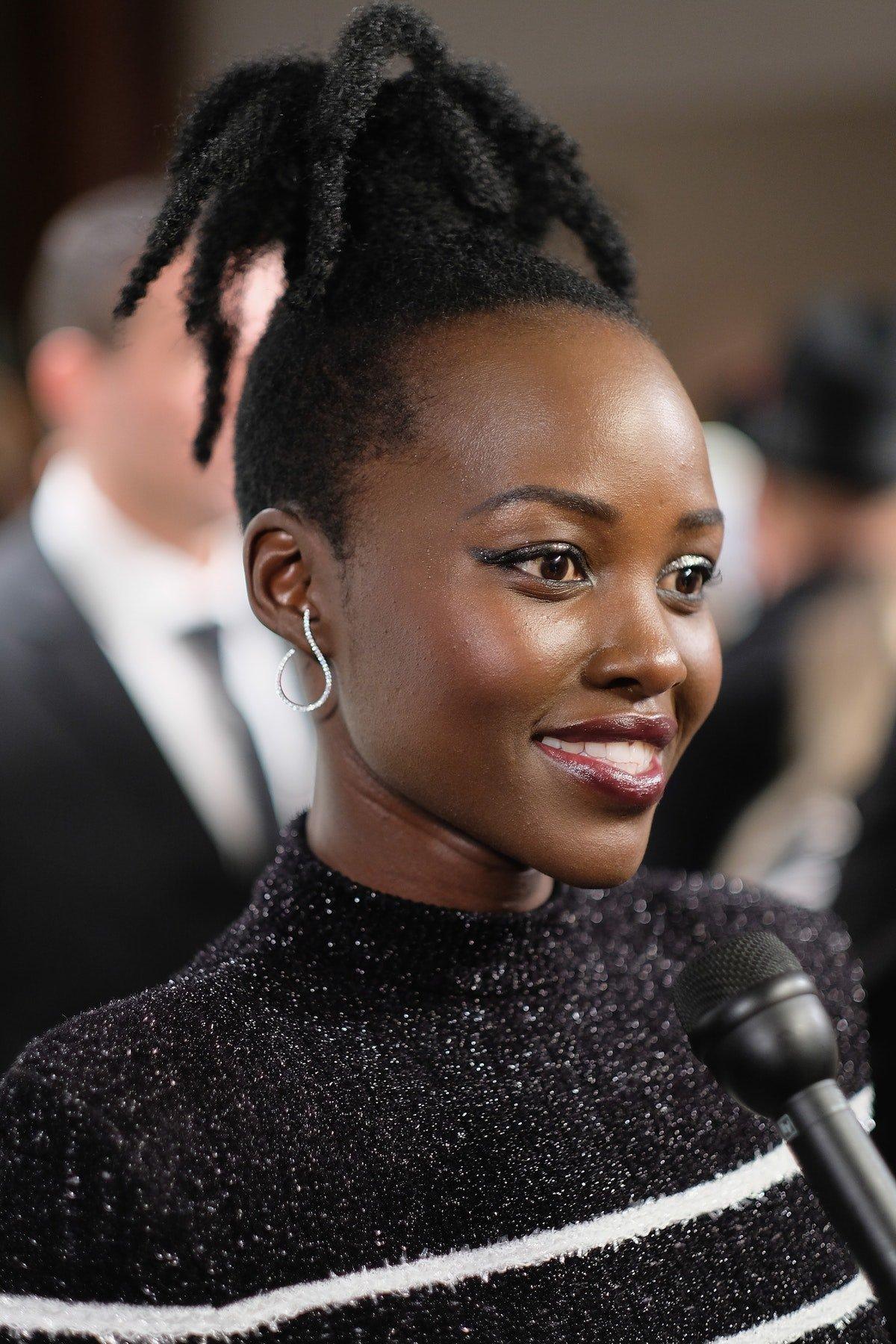 Lupita Nyong'o Looked Like A 'Twilight' Vampire At The Premiere Of 'Us'