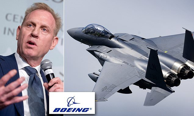 Boeing in new investigation into claims Pentagon boss helped firm