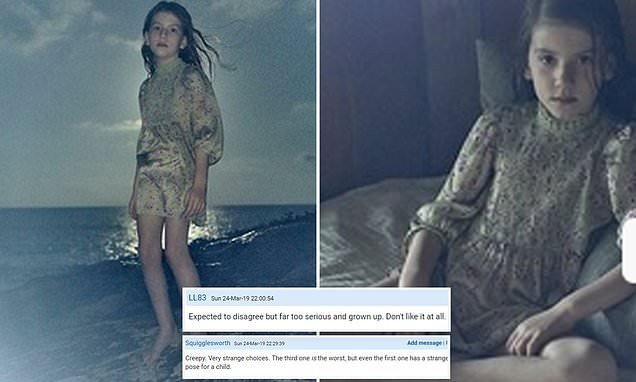 Zara REMOVES photos of their new children's campaign