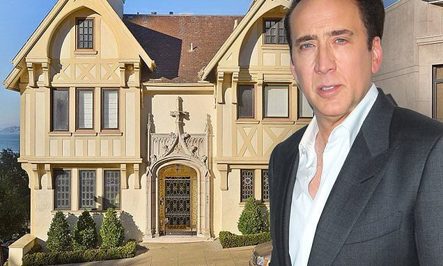 Nicolas Cage can't sell San Fran mansion despite dropping price by $1m