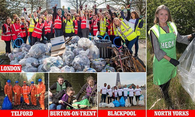Coca-Cola and Walkers join Mail's Great British Spring Clean