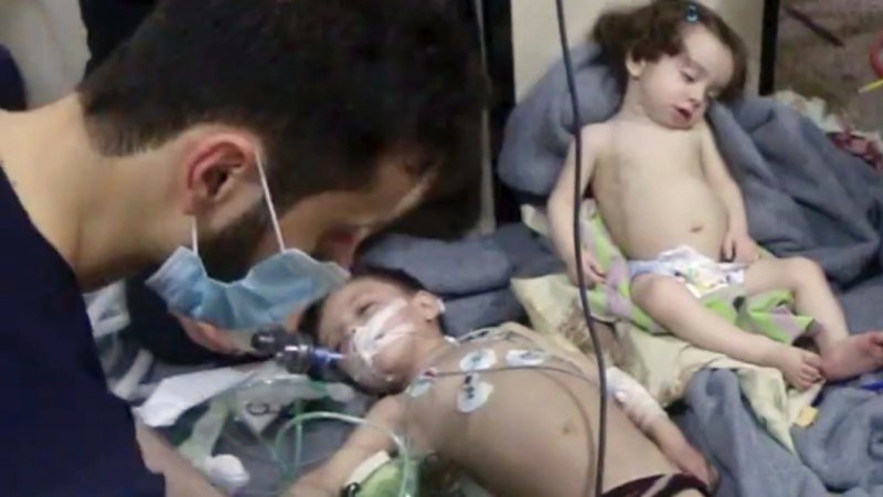 Chemical weapons watchdog says chlorine was used in Douma, Syria